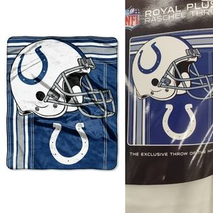 NEW | INDIANAPOLIS COLTS PLUSH BLANKET THROW